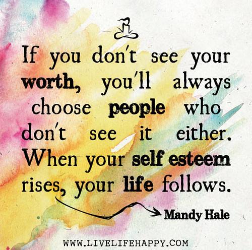 Motivational Quote about Self-Esteem