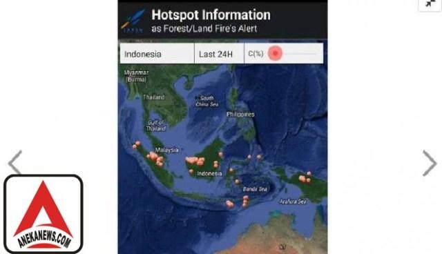 #Tech: Lapan Punya Aplikasi Mobile untuk Pantau Kebakaran Hutan