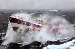 French Fishing Vessel 'Alf' in the Irish Sea