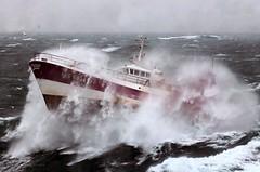 French Fishing Vessel 'Alf' in the Irish Sea