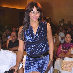 South Actress SANJJANAA Photos Set-7 (17)