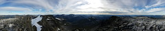 360 degree view from Dronningkrona
