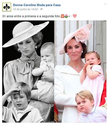 31 anos entre a primeira e a segunda foto. Uma não esconde a tristeza, a outra segura a felicidade