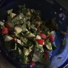 Purslane salad #naturallyglutenfree #gf #glutenfree