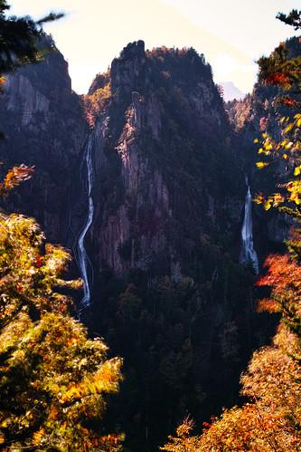 層雲峡 双瀑台