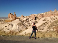 Actress Sanjjanaa holiday in Capadokiya (4)