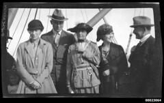 Group portrait including Captain Edward Robert...