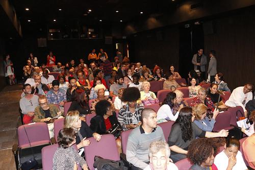 público sessão de abertura