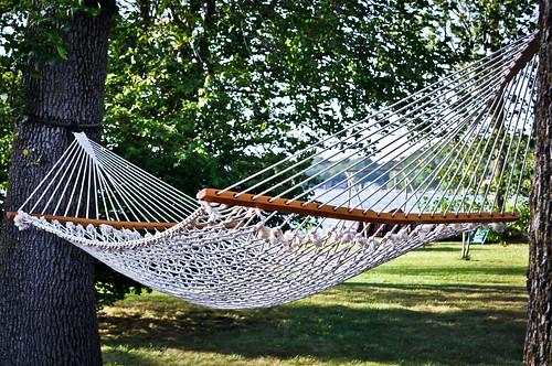 summer vacation hammock relaxation