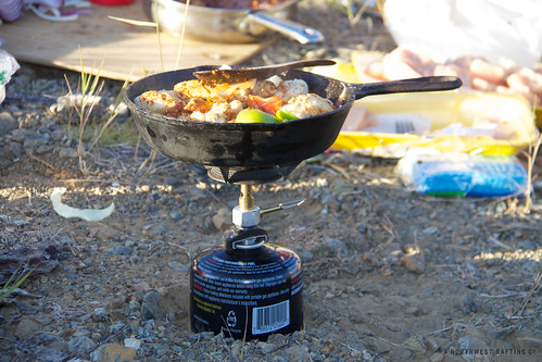 Backpacking Fajitas by Northwest Rafting Company, on Flickr