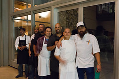 End of Night: Group of Seven Chefs and friends