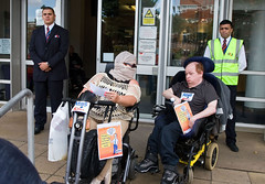Disabled People Against Cuts for The Atos Game...