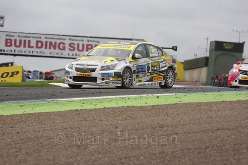 Dave Newsham in BTCC race 2 during the Knockhill Weekend 2016