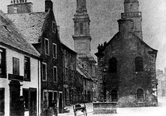 """East Side of Irvine High Street, looking south east  circa 1862 • <a style=""""font-size:0.8em;"""" href=""""http://www.flickr.com/photos/36664261@N05/8005385025/"""" target=""""_blank"""">View on Flickr</a>"""