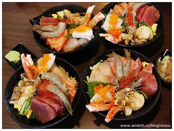 [桃園.美食]築地鮮魚.桃園~平價新鮮生魚片丼飯來囉 @VIVIYU小世界
