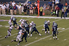 QB Russell Wilson in the Pocket