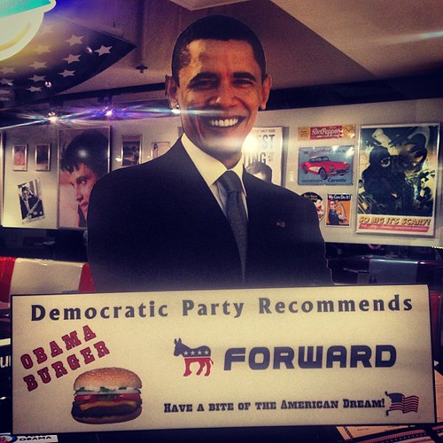 Obama Burger hold the government #food #democr...