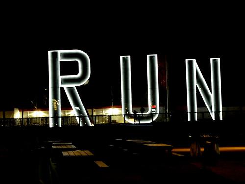 Run dark...