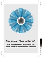 """Simposio: """"Las lecturas"""" / Symposium: """"Readings"""" • <a style=""""font-size:0.8em;"""" href=""""http://www.flickr.com/photos/52183104@N04/7966177494/"""" target=""""_blank"""">View on Flickr</a>"""