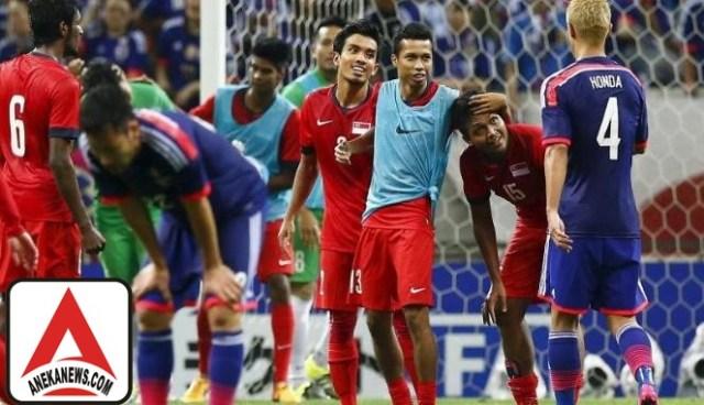 #Bola: Segrup dengan Indonesia, Persiapan Singapura Hampir 100%