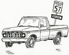 1966 Ford Sketch Templates