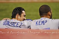 Adrian Gonzalez Matt Kemp IMG_3447redsvsdogers...