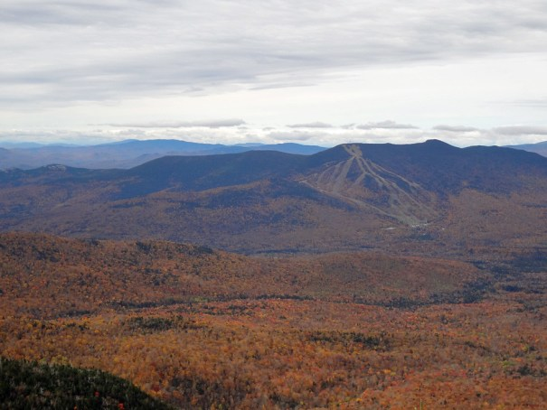 Mt. Tripyramid View of Mt. Tecumseh and Waterville Valley