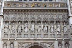 Westminster Abbey - Ten Christian martyrs