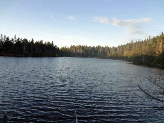 Garfield Pond on the New Hampshire Appalachian Trail