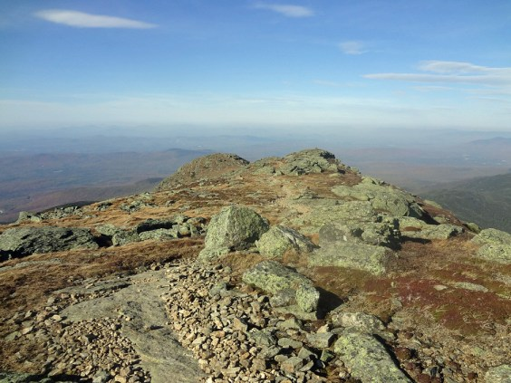 New Hampshire Appalachian Trail North of Mt. Lafayette