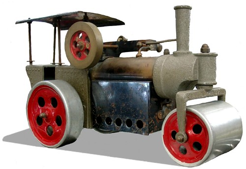 Gisea steam roller