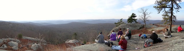 Lunch at Lonesome Pine Overlook