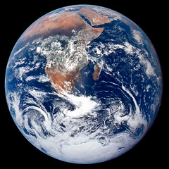 The Blue Marble from Apollo 17