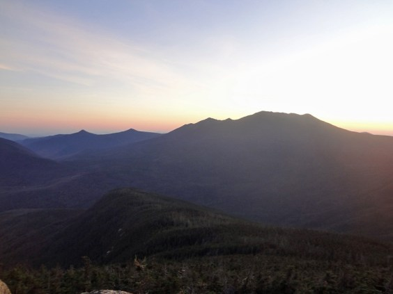 Sunset Over Franconia Ridge as seen from Mt. Garfield