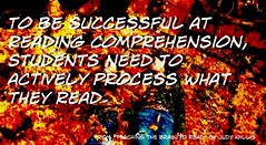 """To be successful at reading comprehensio..."