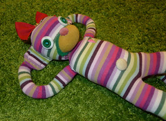 daydreaming sockmonkey