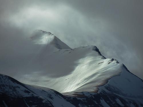 Tra le nuvole... (rospex) parco montagne nuvole neve luci riflessi monti sibillini