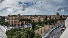 Monument à Victor-Emmanuel II (Rome - Mars 2013) - Vue sur Rome depuis la terrasse.