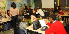 """Take a Professional to School Day: Sarah T. Reed High • <a style=""""font-size:0.8em;"""" href=""""http://www.flickr.com/photos/85752600@N06/8574057153/"""" target=""""_blank"""">View on Flickr</a>"""