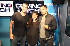 Michelle Ang on the Covino & Rich Show