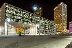 La Défense (Paris) - Night Shots - Les collines de l'arche
