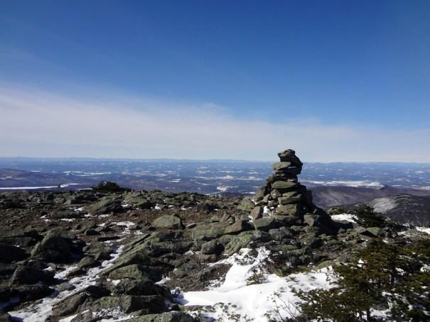 Mt. Moosilauke South Peak Cairn