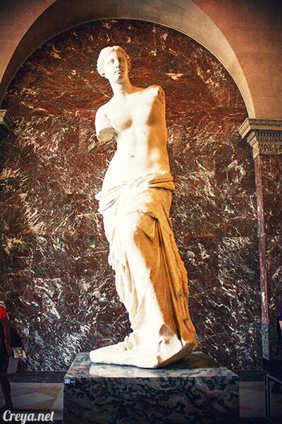 2016.09.04 | 看我的歐行腿| 法國巴黎羅浮宮,金屋藏嬌裡的那抹淺淺微笑 11