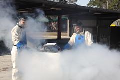 Cryogenics Marines supply 2nd MAW with oxygen,...