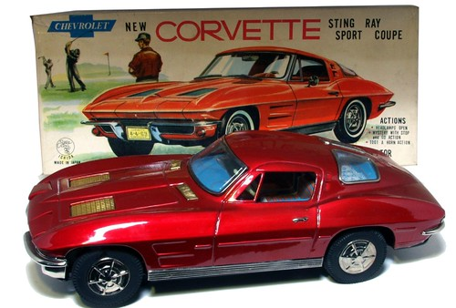 30 1963 Ichida Corvette