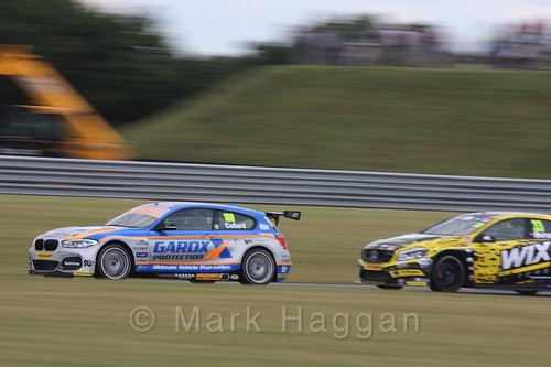 Rob Collard and Adam Morgan in Touring Car action during the BTCC 2016 Weekend at Snetterton