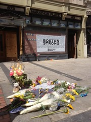 Site of Boston Bomb #1