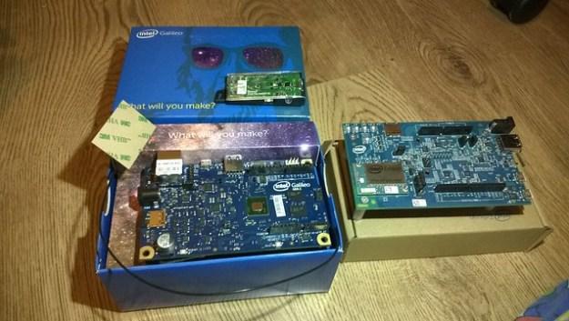 Intel Edison / Intel Galileo Board