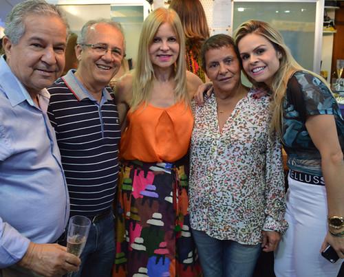 Marcos Sena, Erailto, Glória, Marízia e Kelly