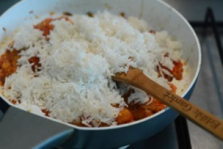 tomato rice recipe, south indian style tomato rice recipe-8
